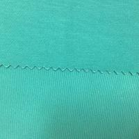 Bleaching 3/1 Twill Cotton Dyed Fabric Chlorine Resistant Green Color Manufactures