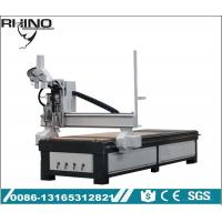 Pneumatic Double Heads Custom CNC Router Machine For Wood Furniture Making Manufactures