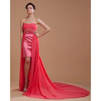 Short Evening Dresses With Trains 68