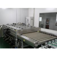 Photovoltaic PV Modules Glass Washing  Equipment , Glass Washing And Drying Machine Manufactures