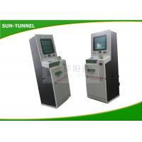 Waterproof LCD Monitor Bank Self Service Kiosks For Business AC 110V - 240V Manufactures