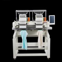 High Precision Computerized Double Head Embroidery Machine With 15 Needles Manufactures