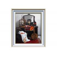 Custom Handpainted music oil painting of abstraction painting guitar Manufactures