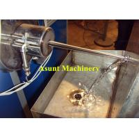 High Output Two Color Drinking Plastic Straw Making Machine , PP PE Drink Straw Extruder Manufactures