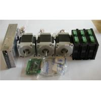 China 3 pcs 3 Axis Stepper Motor Kits With 576W 48V DC 12A Power Supply on sale