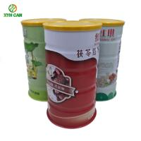 China Food Grade Certificate Tin Can Food Packaging For Soy Bean Powder Instant Milk Powder on sale