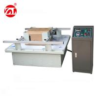 Digital Type Packaging Testing Equipment / Carton Simulation Transportation Vibration Test Machine Manufactures