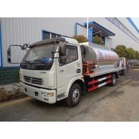 Emulsified Asphalt Sprayer Chemical Tank Trailer 6 Ton 120hp Automatic Control Manufactures