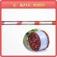 Polyester adder pom pom Fancy Hand Knitting Yarn for round slings Manufactures