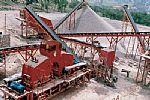 Construction aggregate production plant Manufactures
