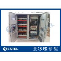 Reasonable Layout Assembled Base Station Cabinet Outdoor Rack Enclosure With Battery Compartment Manufactures