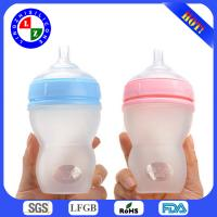2014 BPA free Silicone Baby Bottle for sale