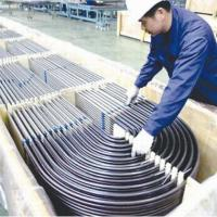 China Stainless steel U tube for heat exchangers, certified by DNV, , TUV, PED, GOST and  on sale