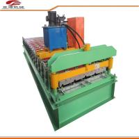 840 Type Color Steel Corrugated Sheet Roll Forming Machine For Warehouse Buildings Manufactures