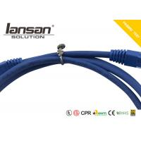 PVC Jacket Ethernet Cat6 Cable UTP Unshield CM CMR Rated HDPE Insulation Customized Manufactures