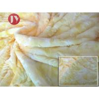 Knitted Polyester Soft Fluffy rose trico knitted plush Fabric , Plush Material Fabric Microfiber Home Textile Manufactures