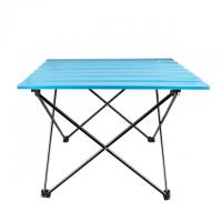 Outdoor Leisure Folding Table For Fishing Aluminum Alloy Material Customized Logo Manufactures