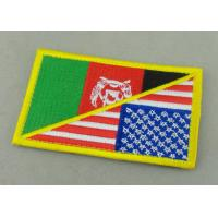 Customized Promotional US Uniform Badge Patch 3.25 Inch Eco - Friendly Manufactures