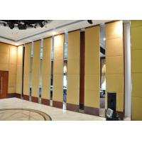 Function Room Bi Folding Partition Walls Domestic , Aluminum Partition Wall