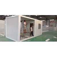 Durable Container Living Homes , 0.45mm Thickness Roof Movable Container House Manufactures