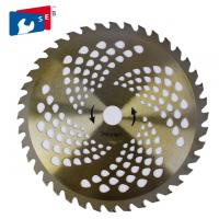 255mm TCT Circular Bush Cutting Saw Blade for Grass Bamboo Fence Manufactures