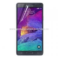 Clear screen protector for Galaxy Note 4 Manufactures