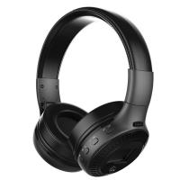 China BK-B19 Bluetooth Headphones with mic fm Radio Stereo Bass Headset for iphone mobile Computer Wireless earphones+TF card on sale