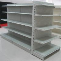 Buy cheap Used store rack basket shop fitting supermarket rack and trolley from wholesalers