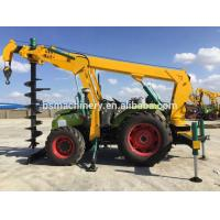 India pole erection machine piling machine tractor price Manufactures