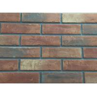 3D206 Acid Resistance Turned Color Interior Brick Wall Clay Material
