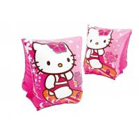 Hello Kitty Kids Swimming Aids , High Safety PVC Swimming Armbands For Toddlers Manufactures