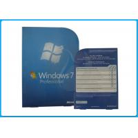 Windows 7 Pro Retail Box MS windows 7 professional 64 bit sp1 DEUTSCH DVD+COA Manufactures