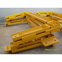 Q345 Steel Structure Frame Potain Tower Crane Spare Parts For Anchor Frame Manufactures
