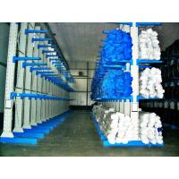 Long Span Cantilever Storage Racks , Single / Double Sided High Density Racking System