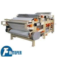 Electric Controlled Belt Filter Press High Temperature Resistant For Biological Industry Manufactures