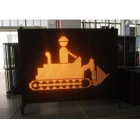 Electronic Full Color Yaham LED Variable Message Signs Hire For Road / Bridge Construction Manufactures