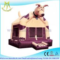 Quality Hansel Car Theme Factory Bouncers Bounce House ,Inflatable dog Bouncy Castle For Sale for sale