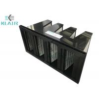 China Low Carbon Shedding Mini Pleated Activated Carbon Filter Gas Phase Adsorber on sale