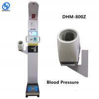 China Bluetooth Height And Weighing Scale With Body Fat Analyzer Voice Broadcast And Printing Result on sale