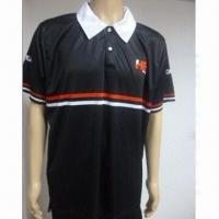 China Sports T-shirt Top, Made of 100% Sublimated Rugby Jersey on sale