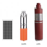 LSPS Series Solar Water Pumping System , DC Brush Solar Powered Deep Well Pump Manufactures