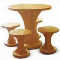 China Outdoor Wood Furniture with 68kg Weight and Fir/Pine Timber on sale