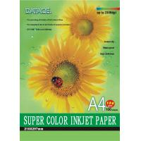 China Professional super white 108g / 128g inkjet paper A4, 100pcs / bag, 20bags / box packing on sale
