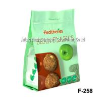 Stand Up Printed Zipper Food Packaging Plastic Bags, Biscuit Packaging Bag Manufactures