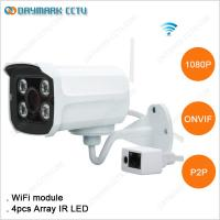 Array IR Led Hight Resolution 1080p Wireless Surveillance Camera Manufactures