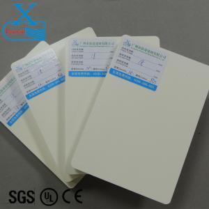 Europe standard celuka lead free pvc board for decoration board insulation waterproof foam board 18mm pvc poster board Manufactures