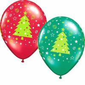 China christmas decorations latex printed balloons on sale