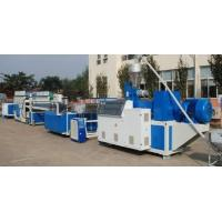 Crust Foam Pvc Board Making Machine , Plastic PVC Profile Extrusion Line Manufactures
