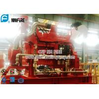 FM Approval Netherlands Original DeMaas Fire Pump Diesel Engine Used In The Fire Water Pump Set With High Speed Manufactures