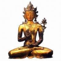 Buddha Statue, Customized Designs/Colors are Accepted, Made of Copper/Bronze/Brass, Easy to Clean Manufactures